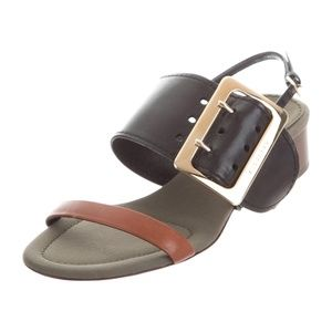 Burberry Leather Buckle Sandals